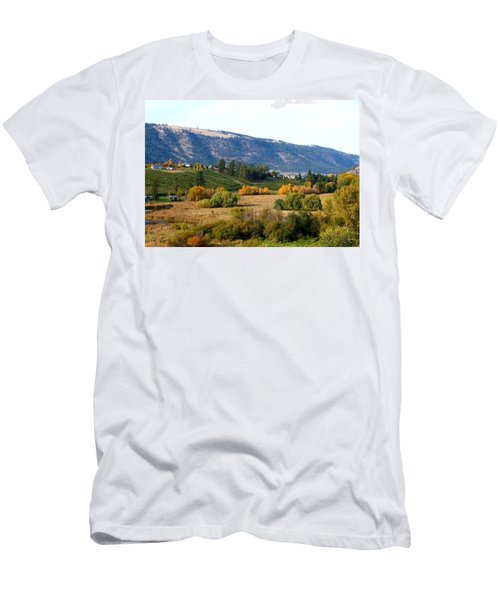 Lake Country Landscape Men's T-Shirt (Athletic Fit)