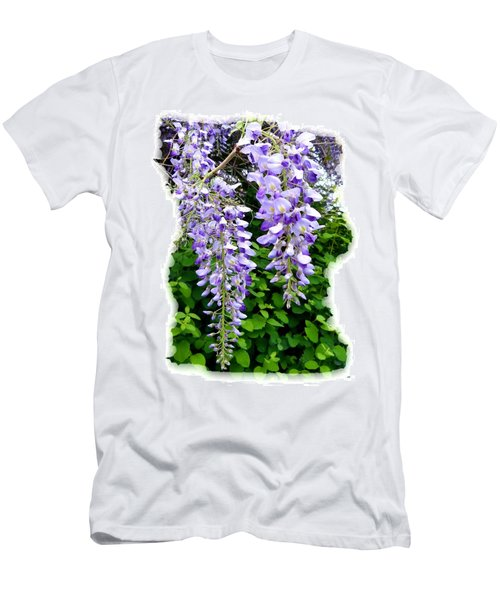 Lake Country Wisteria Men's T-Shirt (Slim Fit) by Will Borden