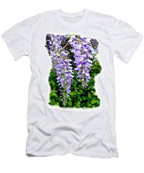 Lake Country Wisteria Men's T-Shirt (Slim Fit)
