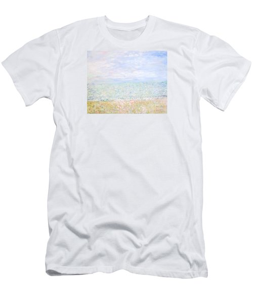Lake Michigan At Oak St Bch Chicago Men's T-Shirt (Athletic Fit)
