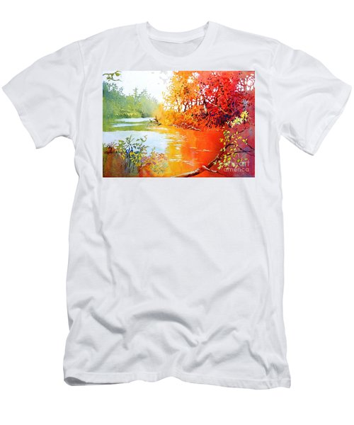 Lakescene 1 Men's T-Shirt (Athletic Fit)
