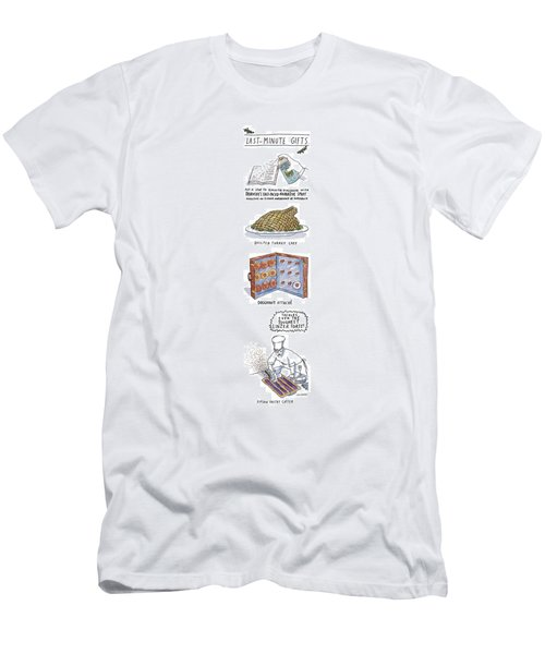 Last-minute Gifts Put A Stop To Sluggish Dialogue Men's T-Shirt (Athletic Fit)