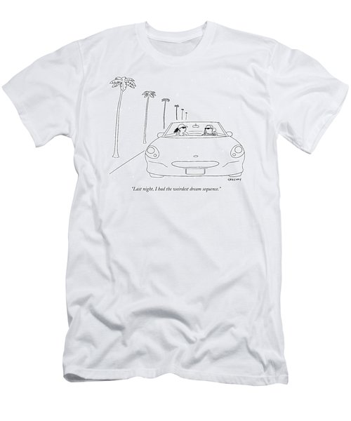 Last Night, I Had The Weirdest Dream Sequence Men's T-Shirt (Athletic Fit)