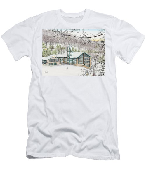 Last Run Of The Day Men's T-Shirt (Athletic Fit)
