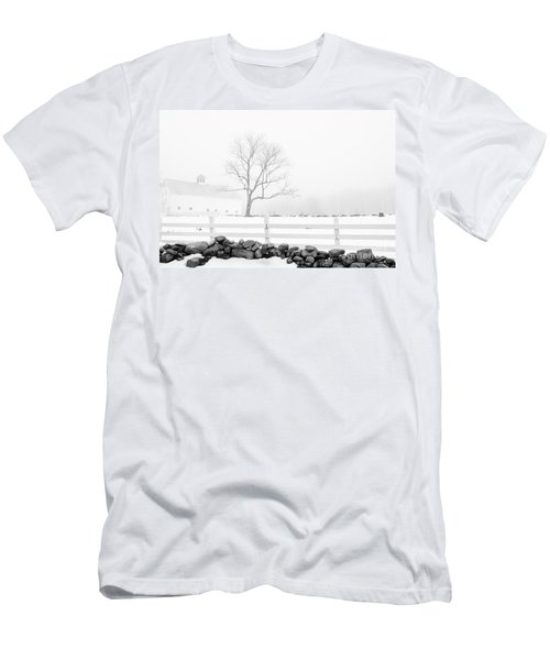 Late Winter Men's T-Shirt (Slim Fit) by Alana Ranney