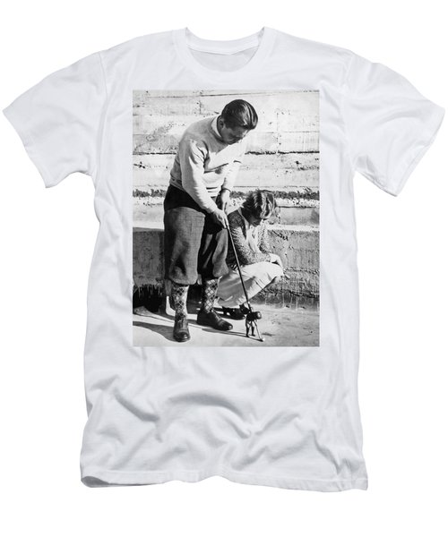 Latest In Novelty Golf Clubs Men's T-Shirt (Athletic Fit)
