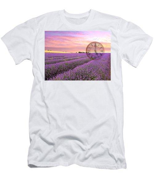 Lavender Time Men's T-Shirt (Athletic Fit)