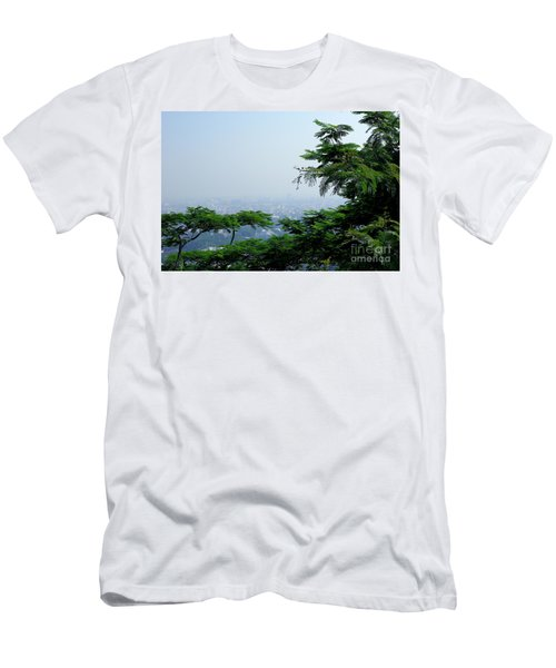 Layers Of Tree Men's T-Shirt (Athletic Fit)