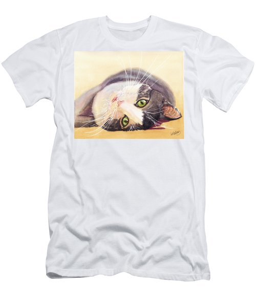 Lazy Kitty Men's T-Shirt (Athletic Fit)
