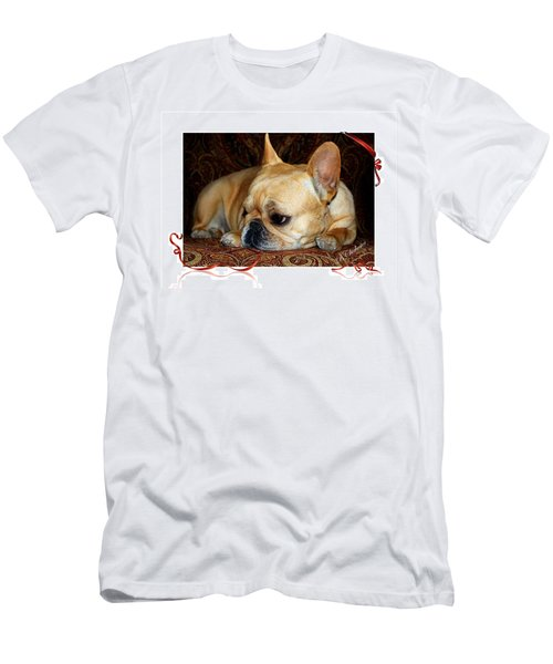 Men's T-Shirt (Slim Fit) featuring the photograph Lazy Paisley Afternoon by Barbara Chichester