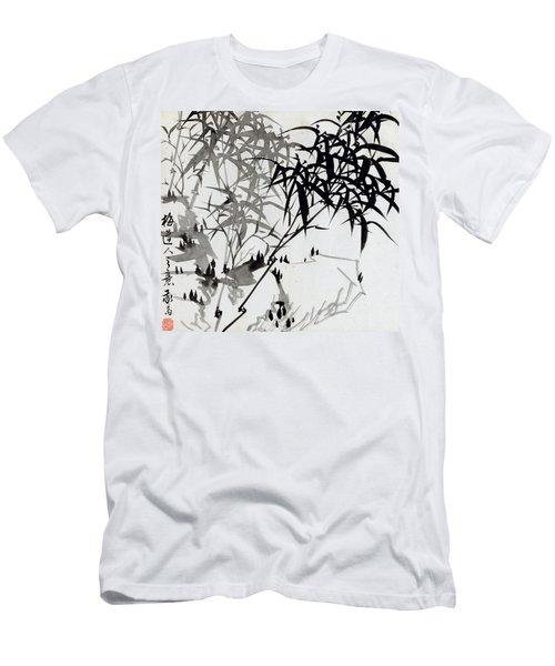 Leaf F Men's T-Shirt (Athletic Fit)