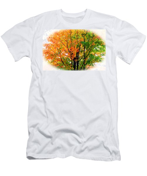 Leaves Changing Colors Men's T-Shirt (Athletic Fit)