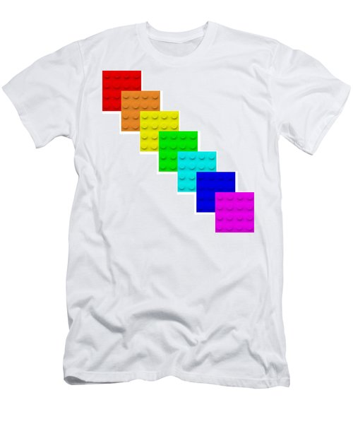 Lego Box White Men's T-Shirt (Athletic Fit)