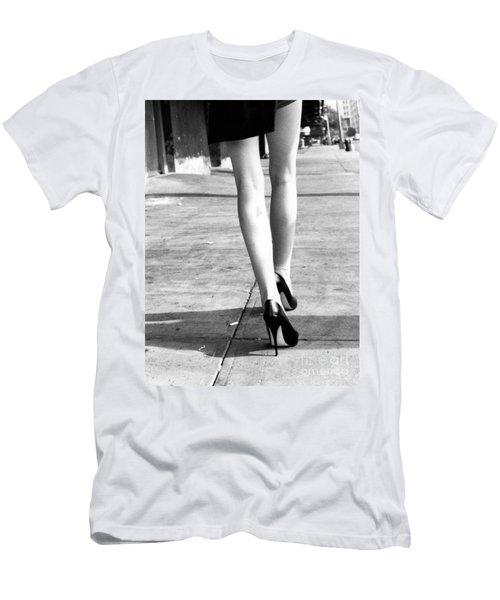 Legs New York Men's T-Shirt (Slim Fit) by Rebecca Harman