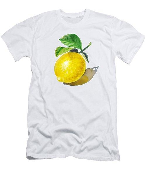 Artz Vitamins The Lemon Men's T-Shirt (Athletic Fit)