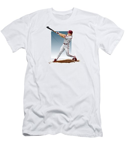 Lenny Dykstra Men's T-Shirt (Slim Fit) by Scott Weigner