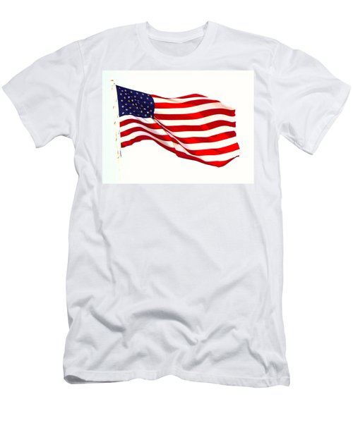 Let Freedom Reign Men's T-Shirt (Athletic Fit)