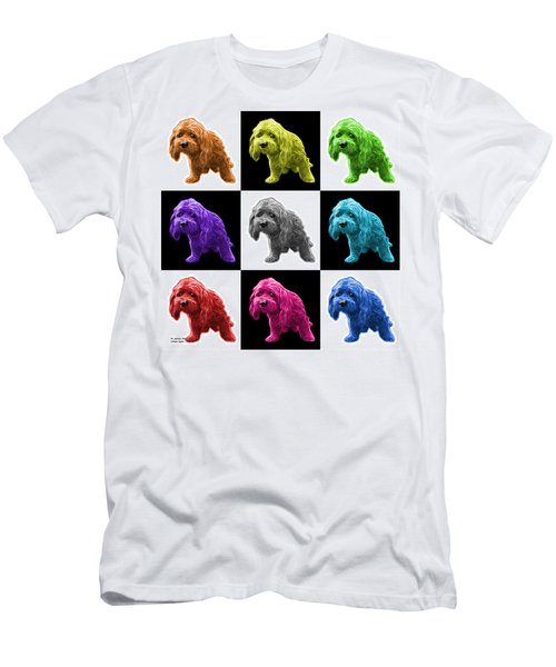 Lhasa Apso Pop Art - 5331 - V2- M Men's T-Shirt (Athletic Fit)
