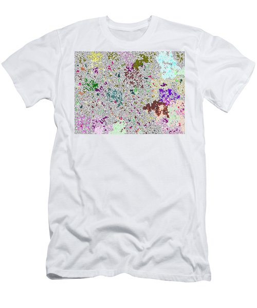 Men's T-Shirt (Slim Fit) featuring the photograph Life 'n Flux by Joseph Baril