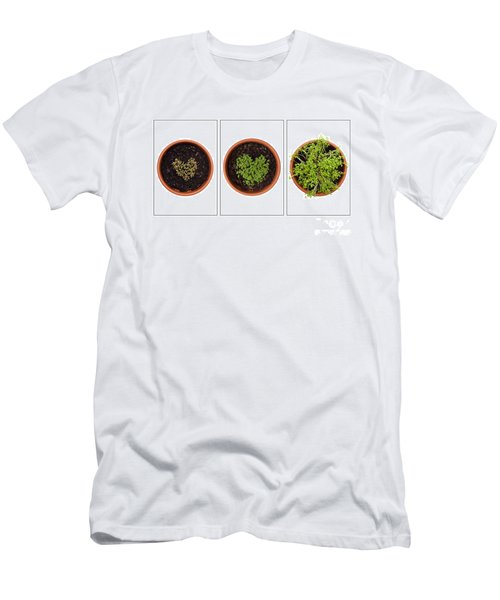 Life Of Cress On White Men's T-Shirt (Athletic Fit)