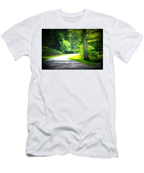 Light To My Path Men's T-Shirt (Athletic Fit)
