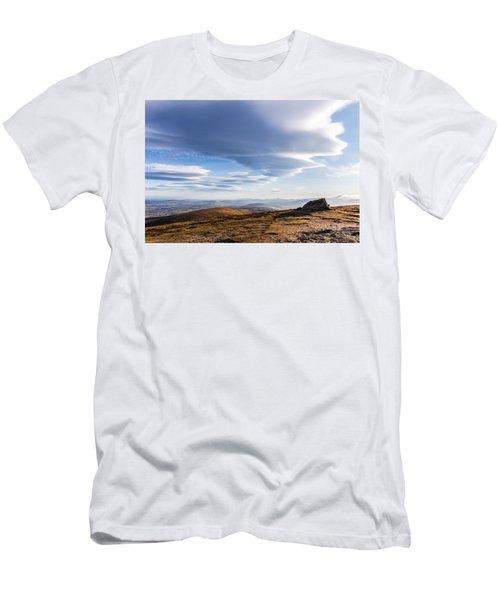 Lightfall On Djouce Mountain Summit Men's T-Shirt (Athletic Fit)