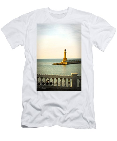 Lighthouse - Alexandria Egypt Men's T-Shirt (Athletic Fit)