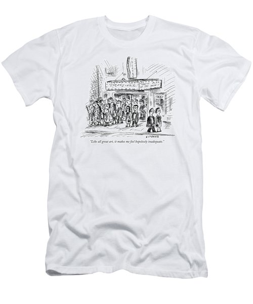 Like All Great Art Men's T-Shirt (Athletic Fit)