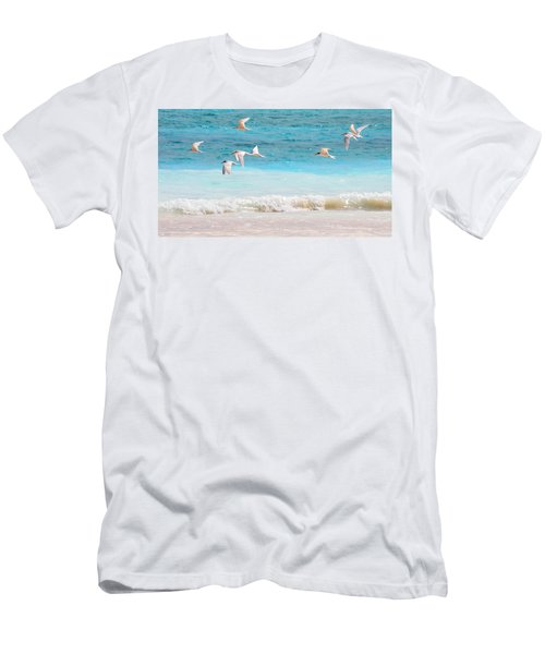 Like Birds In The Air Men's T-Shirt (Athletic Fit)