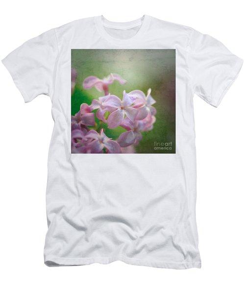 Lilac Dreaming  Men's T-Shirt (Slim Fit) by Kerri Farley