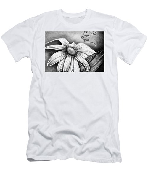 Lily Flower Men's T-Shirt (Athletic Fit)