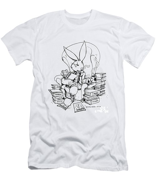 Literary Playboy Men's T-Shirt (Athletic Fit)