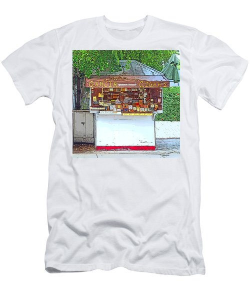 Little Cigar Shop Key West Men's T-Shirt (Athletic Fit)