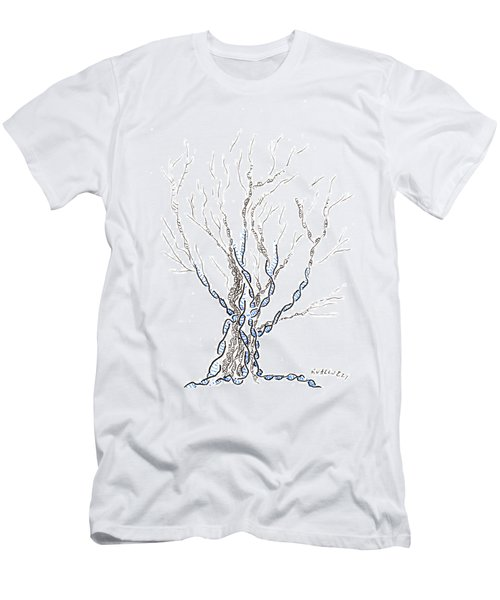 Little Dna Tree Men's T-Shirt (Athletic Fit)