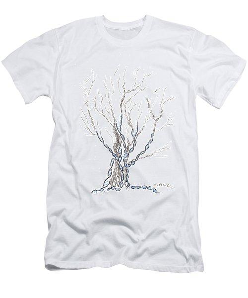 Little Dna Tree Men's T-Shirt (Athletic Fit)