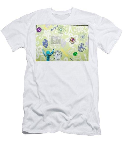 Live Joyfully Men's T-Shirt (Athletic Fit)
