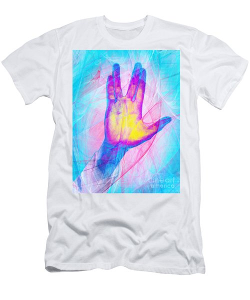 Live Long And Prosper 20150302v1 Men's T-Shirt (Athletic Fit)