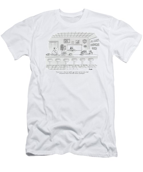 Liverwurst Is Down An Eighth Men's T-Shirt (Athletic Fit)