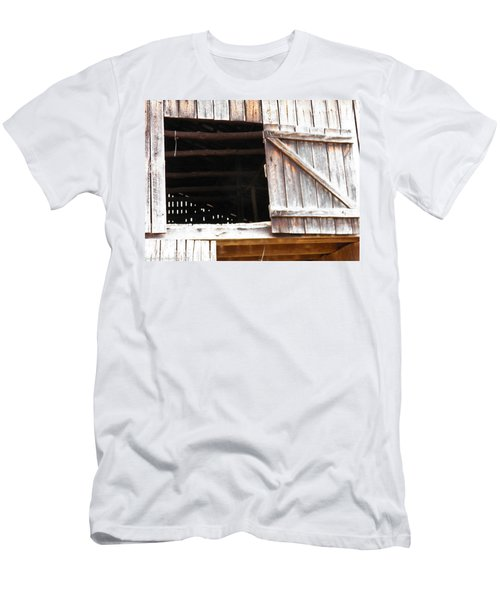 Men's T-Shirt (Slim Fit) featuring the photograph Lofty Hieghts by Nick Kirby