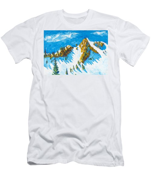 Lone Tree 1 Men's T-Shirt (Athletic Fit)