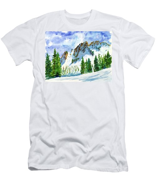 Lone Tree In The Afternoon Men's T-Shirt (Athletic Fit)