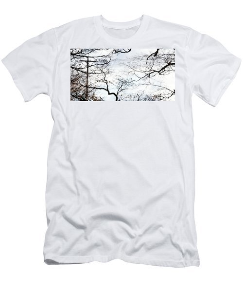 Men's T-Shirt (Athletic Fit) featuring the photograph Lost Lines by Linda Shafer