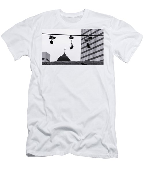 Lost Soles - Urban Metaphors Men's T-Shirt (Athletic Fit)