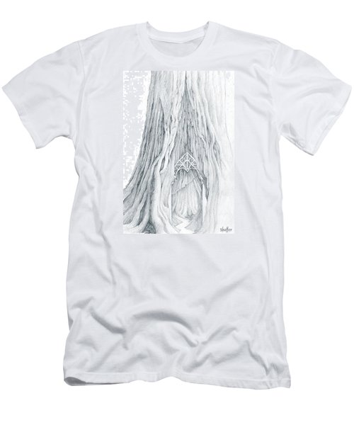 Lothlorien Mallorn Tree Men's T-Shirt (Athletic Fit)