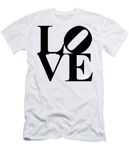 Love 20130707 Black White Men's T-Shirt (Athletic Fit)