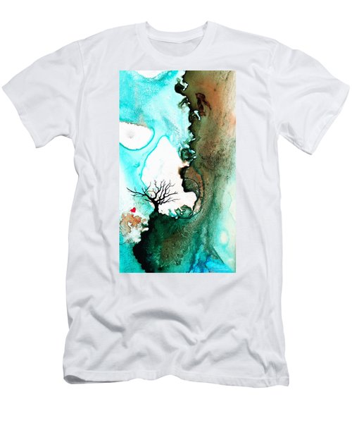 Love Has No Fear - Art By Sharon Cummings Men's T-Shirt (Athletic Fit)