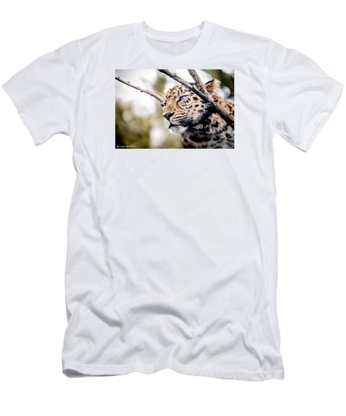 Men's T-Shirt (Athletic Fit) featuring the photograph Love Panther Iv by Stwayne Keubrick