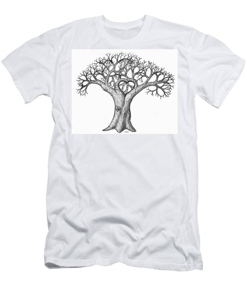 Love Tree Men's T-Shirt (Athletic Fit)