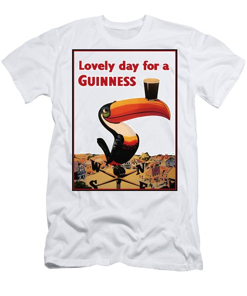 Lovely Day For A Guinness Men's T-Shirt (Athletic Fit)