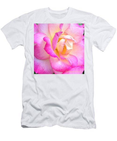 Lovely Lady Diana Rose Men's T-Shirt (Athletic Fit)
